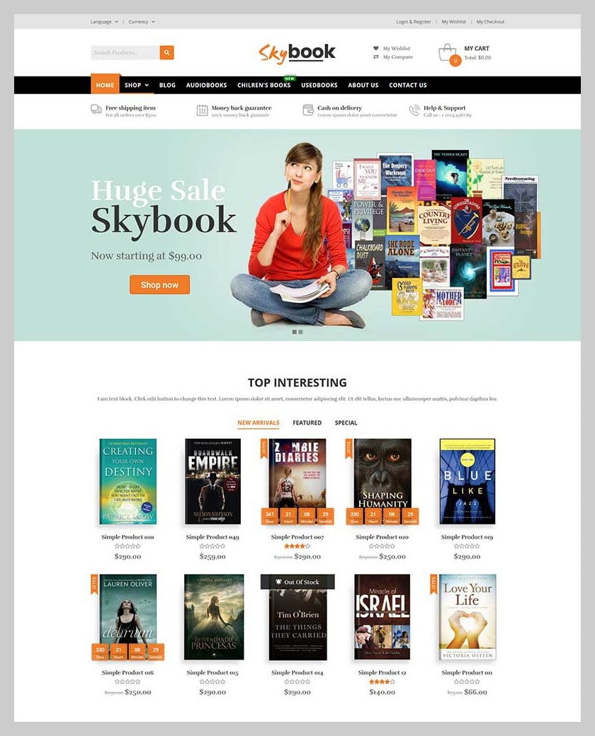 VG Skybook - WooCommerce Theme For Book Store - 2