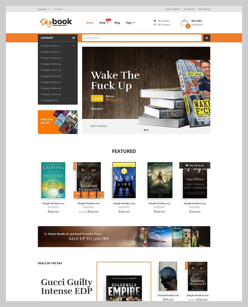 VG Skybook - WooCommerce Theme For Book Store - 3