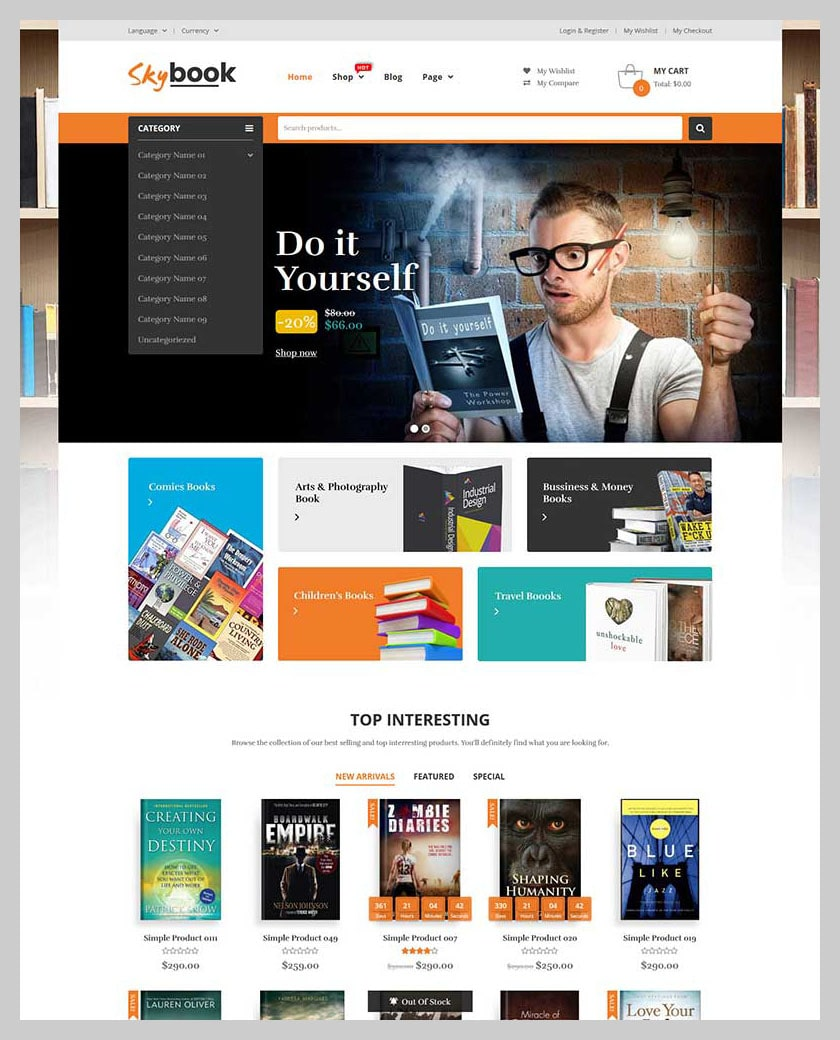 VG Skybook - WooCommerce Theme For Book Store - 4