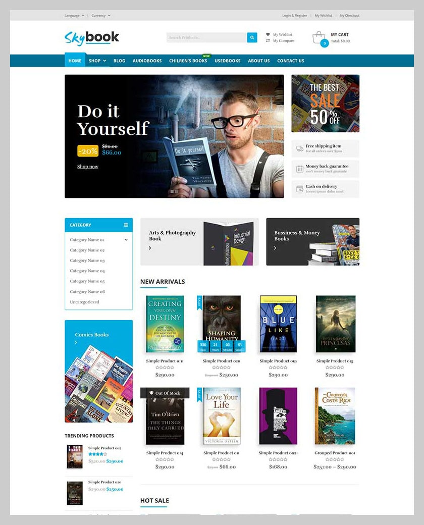 VG Skybook - WooCommerce Theme For Book Store - 5