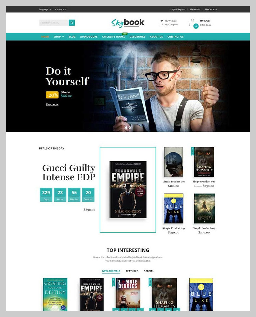 VG Skybook - WooCommerce Theme For Book Store - 6
