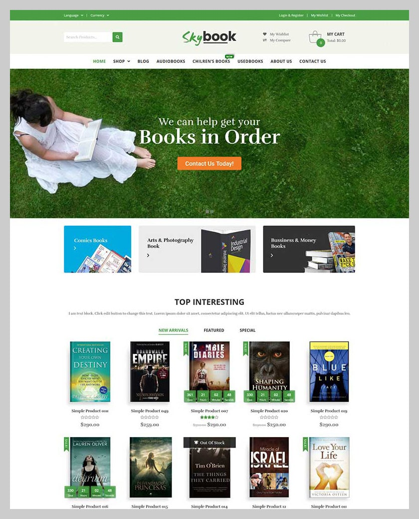 VG Skybook - WooCommerce Theme For Book Store - 7