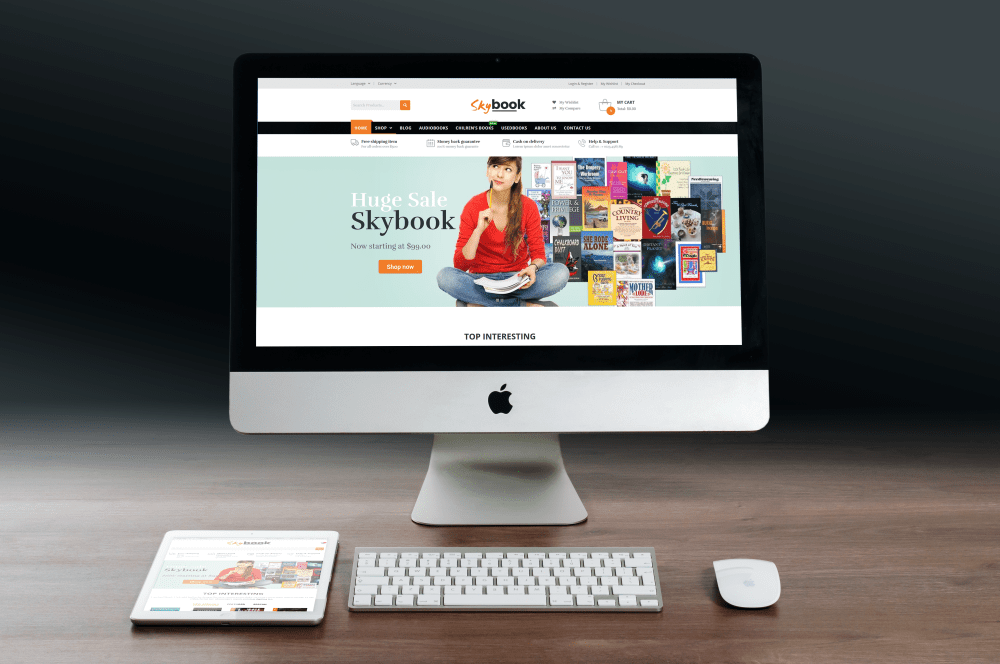 VG Skybook - WooCommerce Theme For Book Store - 1
